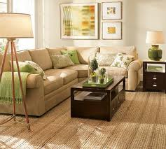 jute carpet and furnishing for drawing room