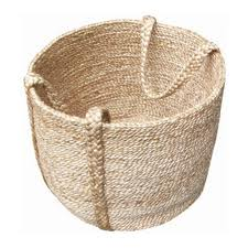 basket made from eco friendly stuff